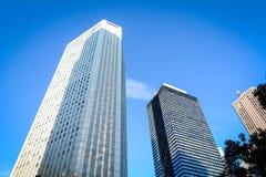 Costruzioni moderne a Tokyo, Giappone Immagine Stock Libera da Diritti