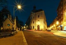 Costruzioni nel centro di Ostrava, repubblica Ceca Fotografie Stock Libere da Diritti