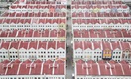 Costruzioni nel Malacca Immagine Stock Libera da Diritti
