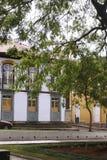 Costruzioni nel Mariana, Brasile Fotografia Stock Libera da Diritti
