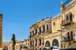 Costruzioni nel quarto armeno di Gerusalemme Immagine Stock Libera da Diritti