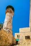 Costruzioni nel quarto musulmano di Gerusalemme Fotografia Stock