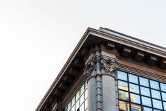 Costruzioni nella città fotografia stock
