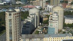 Costruzioni nella città video d archivio