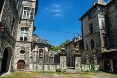 Costruzioni nella città di Chambéry Fotografia Stock Libera da Diritti