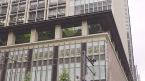 Costruzioni nella periferia di Tokyo video d archivio