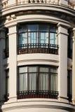 Costruzioni neoclassiche di Madrid, spagna Fotografia Stock Libera da Diritti
