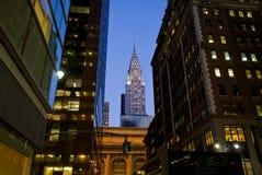 Costruzioni a New York Fotografia Stock Libera da Diritti