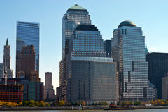Costruzioni in NYC Fotografie Stock Libere da Diritti