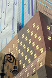 Costruzioni in NYC Immagini Stock