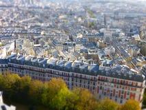 Costruzioni a Parigi Fotografie Stock Libere da Diritti
