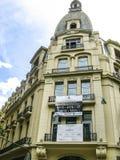 Costruzioni piacevoli di vecchio stile a Buenos Aires Fotografia Stock