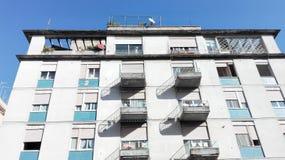 Costruzioni popolari Fotografie Stock