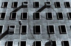 Costruzioni popolari a Roma Fotografia Stock