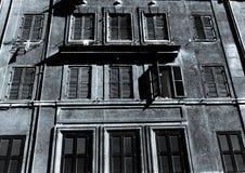 Costruzioni popolari a Roma Fotografie Stock Libere da Diritti
