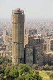 Costruzioni prominenti di Il Cairo del centro Immagini Stock