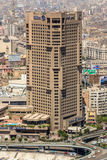 Costruzioni prominenti di Il Cairo del centro Fotografie Stock