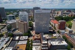 Costruzioni Richmond del centro VA della Banca immagine stock