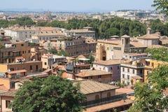 Costruzioni a Roma Fotografie Stock