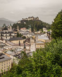 Costruzioni a Salisburgo Austria Immagine Stock Libera da Diritti