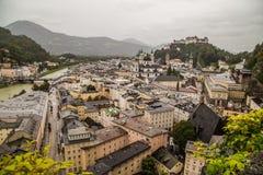Costruzioni a Salisburgo Austria Fotografia Stock