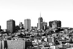 Costruzioni a San Francisco, U.S.A. Fotografie Stock