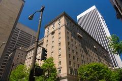 Costruzioni a Seattle Immagine Stock