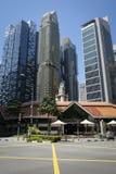 Costruzioni Singapore della città Immagini Stock Libere da Diritti