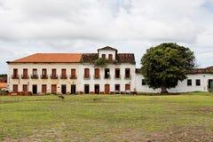 Costruzioni storiche in Alcantara Immagini Stock Libere da Diritti
