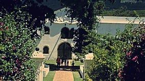Costruzioni storiche a Cape Town stock footage