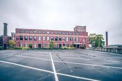 Costruzioni storiche della fonderia del Rhode Island di provvidenza Fotografia Stock Libera da Diritti