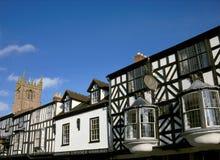 Costruzioni storiche di affari, Inghilterra Immagine Stock Libera da Diritti