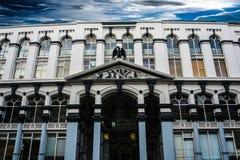 Costruzioni storiche di Londra del Southbank Fotografia Stock