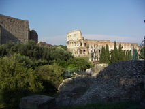 Costruzioni storiche di Roma Fotografie Stock Libere da Diritti