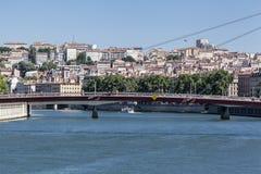 Costruzioni storiche Lione Francia Immagini Stock Libere da Diritti