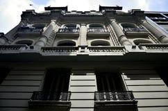 Costruzioni storiche nella capitale federale dell'argentina Buenos Aires Immagine Stock Libera da Diritti