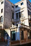 Costruzioni storiche veneziane, Venezia, Italia immagini stock libere da diritti
