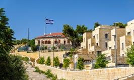 Costruzioni sul monte degli Ulivi a Gerusalemme Fotografie Stock
