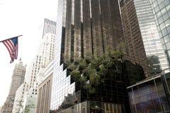 Costruzioni sul quinto viale, New York Immagini Stock