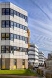 Costruzioni tipiche dell'ospedale su una fila Fotografie Stock Libere da Diritti