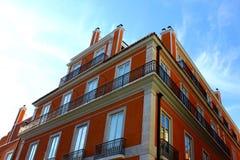 Costruzioni tipiche di Lisbona Fotografie Stock