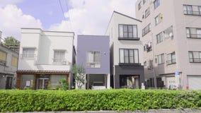 Costruzioni a Tokyo video d archivio