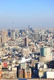 Costruzioni a Tokyo, Giappone Fotografie Stock Libere da Diritti