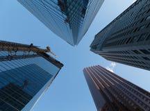 Costruzioni a Toronto del centro Immagine Stock Libera da Diritti