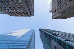 Costruzioni a Toronto del centro Fotografia Stock Libera da Diritti