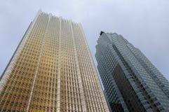 Costruzioni Toronto della ruspa spianatrice del cielo Fotografia Stock