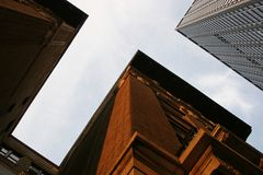Costruzioni torreggianti Immagine Stock Libera da Diritti
