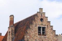 Costruzioni tradizionali, Bruges, Belgio Fotografie Stock