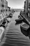 Costruzioni tradizionali in Burano, Venezia Rebecca 36 Fotografie Stock Libere da Diritti