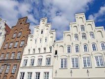 Costruzioni tradizionali in Lübeck Immagini Stock Libere da Diritti